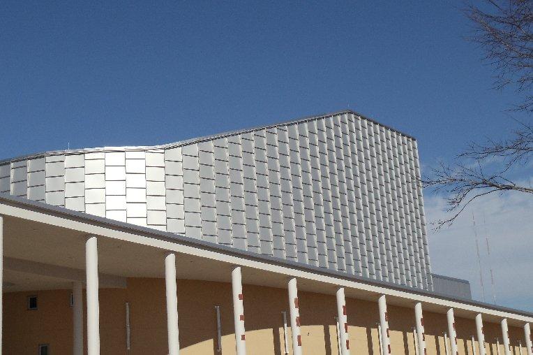 圆柱木纹铝单板,塑造想要的造型