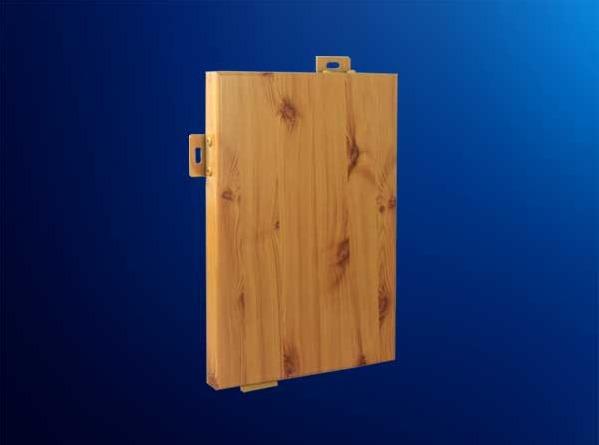 复古多变仿木纹装修幕墙铝单板