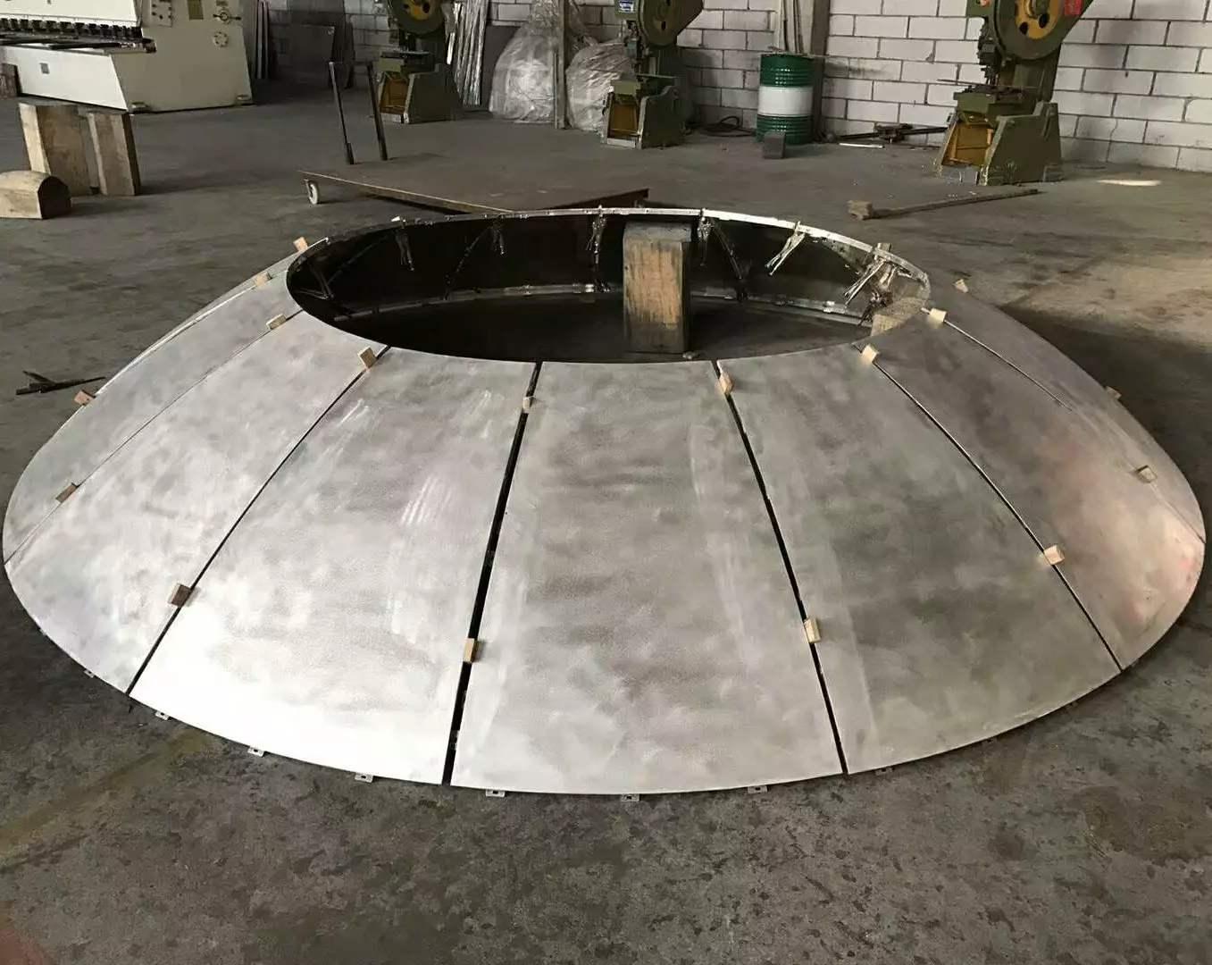 氟碳双曲铝单板-创作随心所欲的美