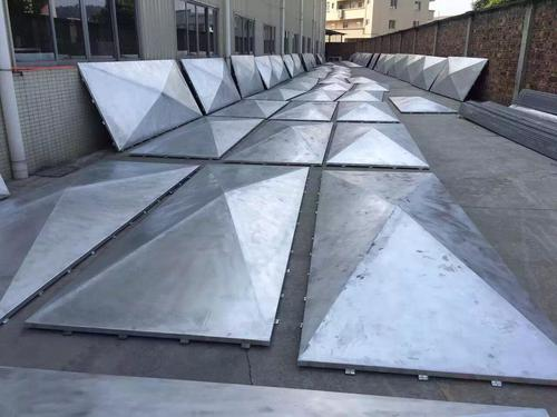 建筑幕墙铝单板的特点及构造