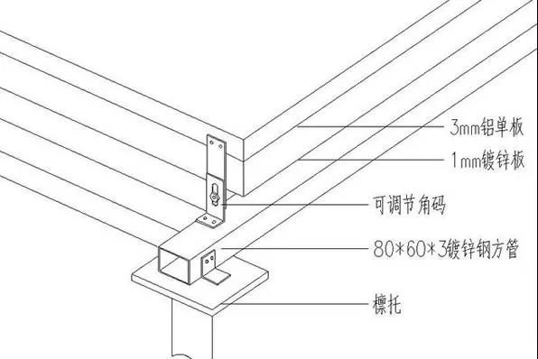 氟碳铝单板幕墙详细施工方案