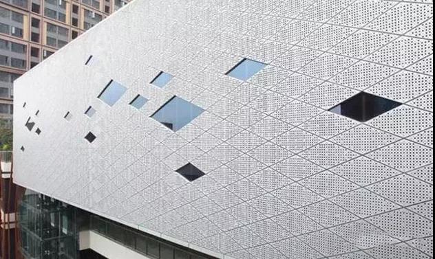 铝单板幕墙的外部防晒装置,第2部分产品