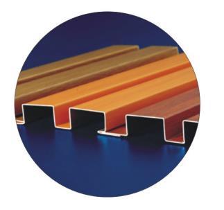 幕墙铝单板的种类以及分类,节点安装示意图(英文)