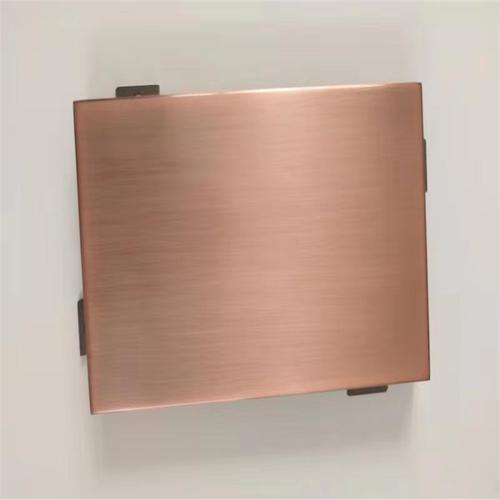 如何无缝焊接两个弧形铝单板