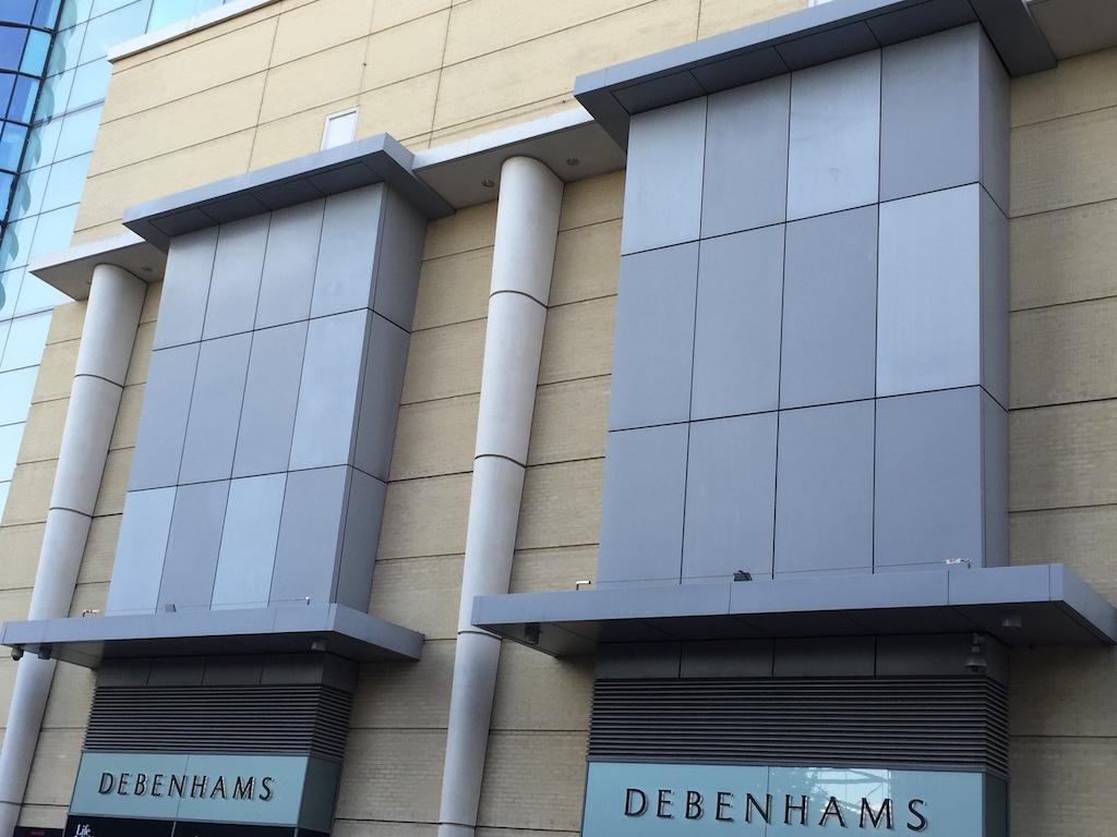 幕墙铝单板的壁板和建筑