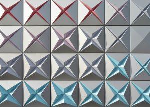 异形铝单板幕墙为商业建筑提供了幻美的效果