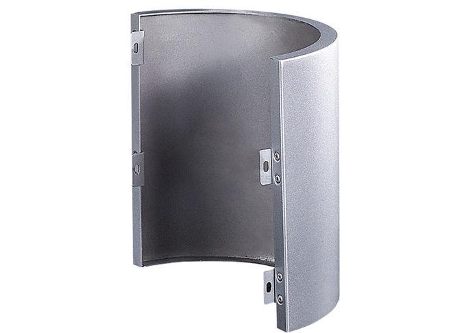 厚度为1.5-6.0mm,可定制尺寸和颜色的包柱铝单板