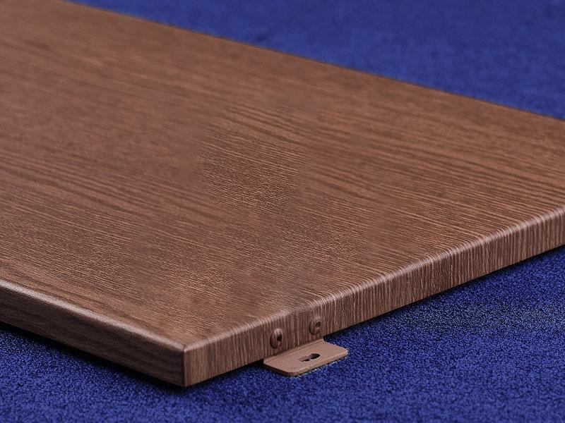 如何鉴别仿木纹铝单板的质量?