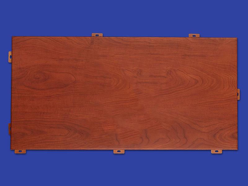 覆印工艺木纹铝单板,粉末涂料木纹铝单板