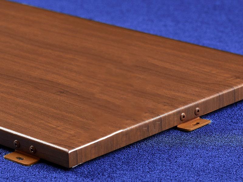 多种规格多种饰面的木纹铝单板