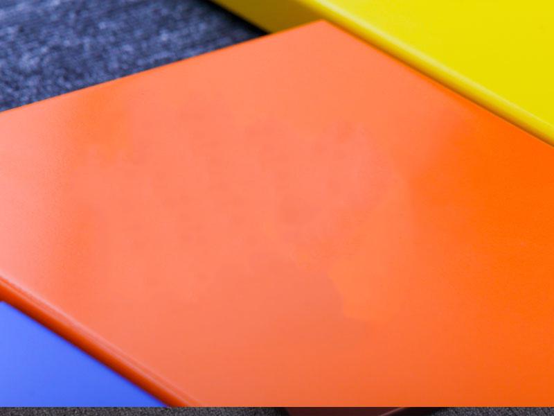 玄关铝单板天花板可以制成各种形状