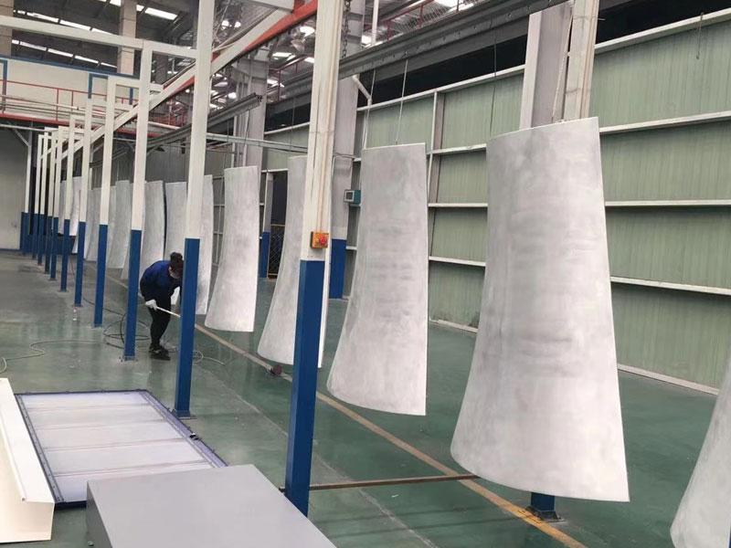 用于氟碳铝单板制造的烘干装置-技术领域