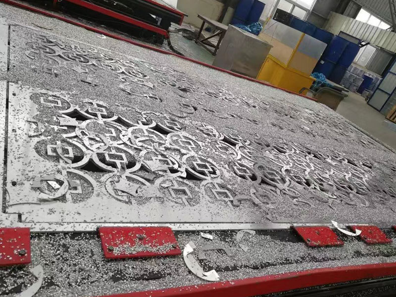 穿孔雕花铝单板户外雕花铝单板空调罩
