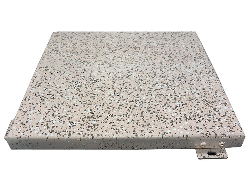 仿石纹的氟碳铝单板做法详细工艺