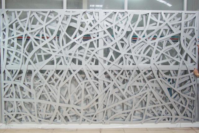 怎么计算自己的铝单板施工墙面面积