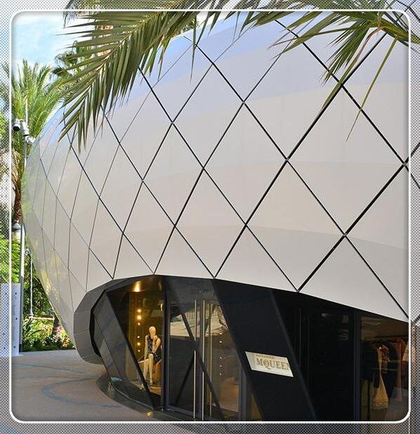 昆明幕墙铝单板材质规格及安装介绍