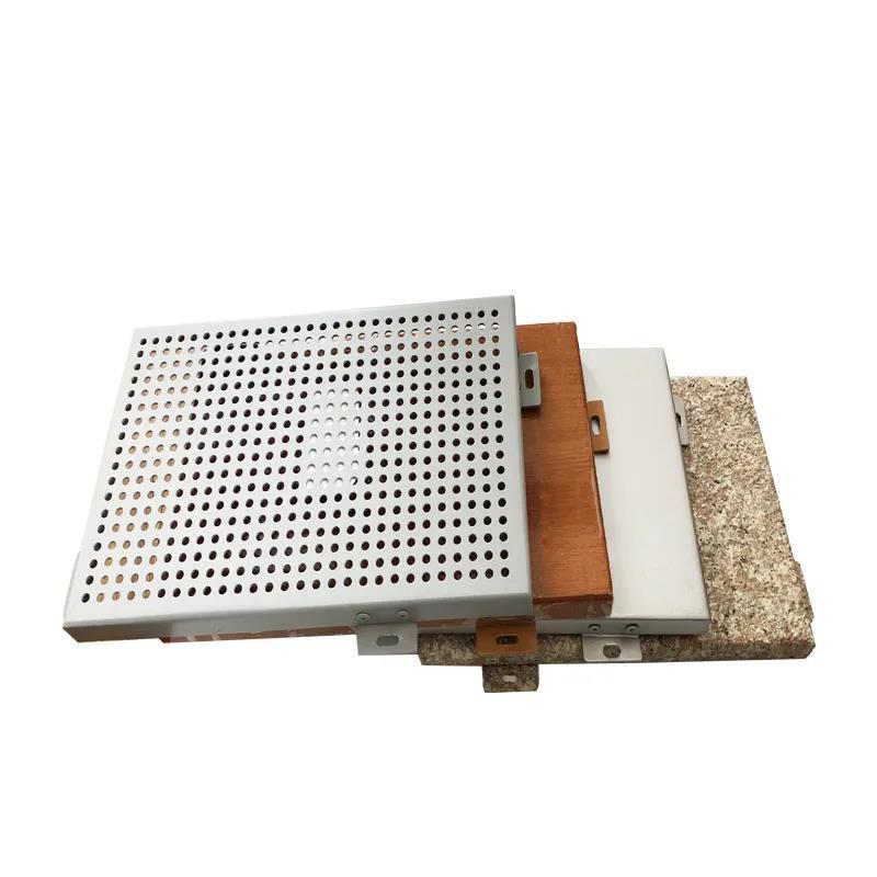 悬空菱形铝单板遮阳幕墙施工方法(四)